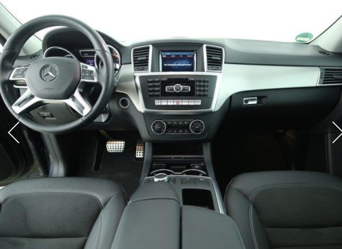 MERCEDES ML CLASS (03/2015) - GREY METALLIC - lieu:
